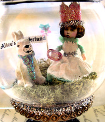 Teatime with Alice and The Rabbit!