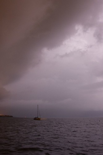 storm weather sailing keywest