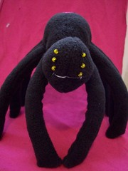 wimbley (misc5anddime) Tags: black spider plush fleece