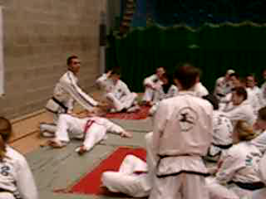 Khalid Iqbal Seminar - UCD Sports Centre (March 2004) (irlLordy) Tags: ireland dublin 2004 club march greg taekwondo seminar ciara pamela tkd ucd colm sportscentre softy khalidiqbal msshouldice mrmcmahon mriqbal