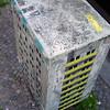 Evol / CTink: Plattenbau mit Rooftops von Tower (Antonia Schulz) Tags: street urban streetart berlin tower art project calle stencil arte kunst ciudad plattenbau urbana plakat evol affiche fassade pochoir postkasten schablone ctink écriteau