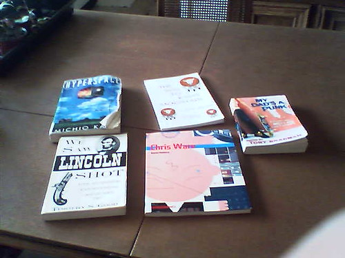 Books I saved from the library