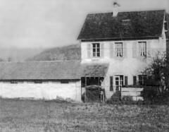 L'école du Bourget disparue dans le lac de Vouglans