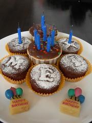 Meilia's bday cake