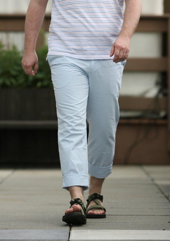 Fashion Trend Test Man Capris