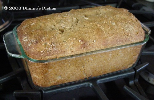 Whole Wheat Sunflower Seed Bread: Baked