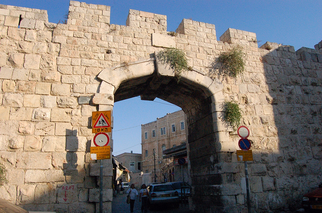 New Gate, יְרוּשָׁלַיִם Jerusalem 耶路撒冷