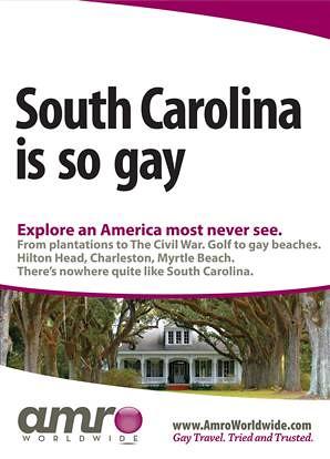 South Carolina = GAY!