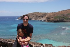 Alex and Me at Hanauma Bay