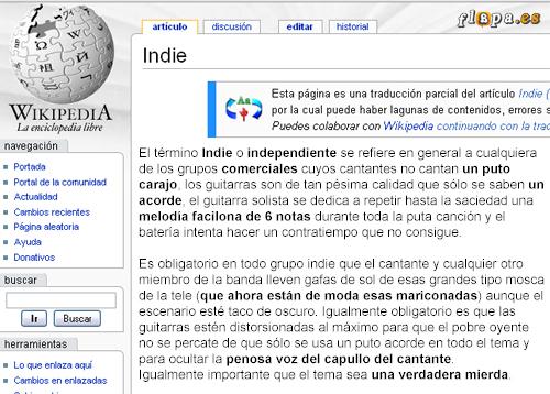 wiki indie