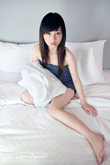 Eve (AehoHikaruki) Tags: life light portrait people cute girl beautiful fashion asian hotel photo nice interesting asia evelyn photos sweet album great chinese taiwan olympus lazy taipei lovely  e1 ambience       aehohikaruki