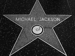 RIP Michael Jackson's Star On Hollywood Blvd por Sërch