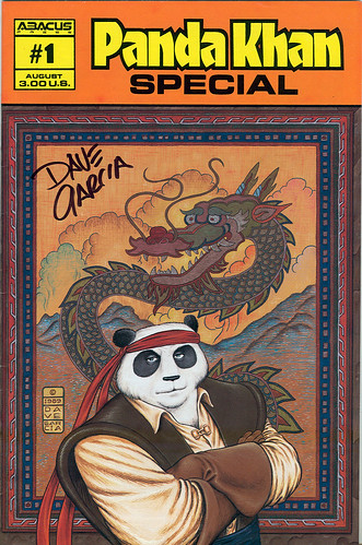 Panda Khan - Special #1 .. Abacus Press..signed by Dave Garcia (( August 1990 ))