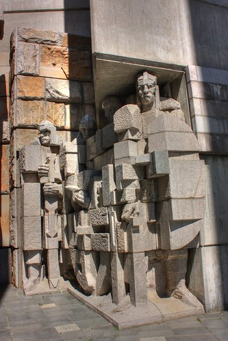 The Founders of the Bulgarian State Monument