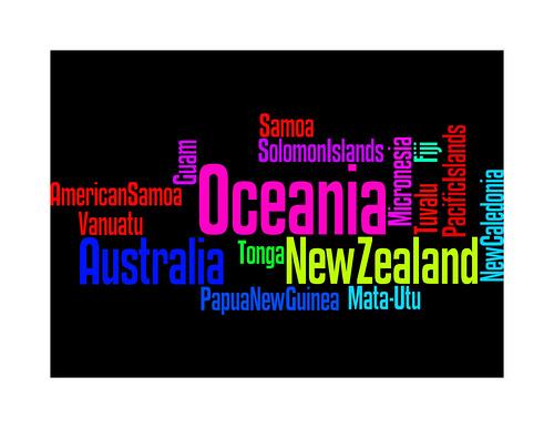 Oceania Wordle
