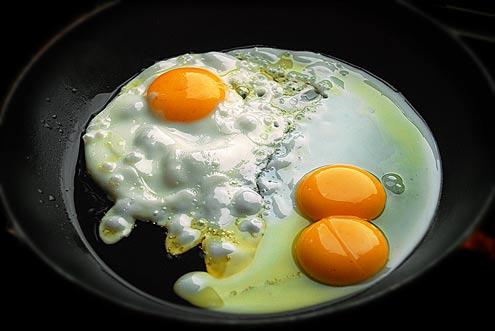A rare double yolker