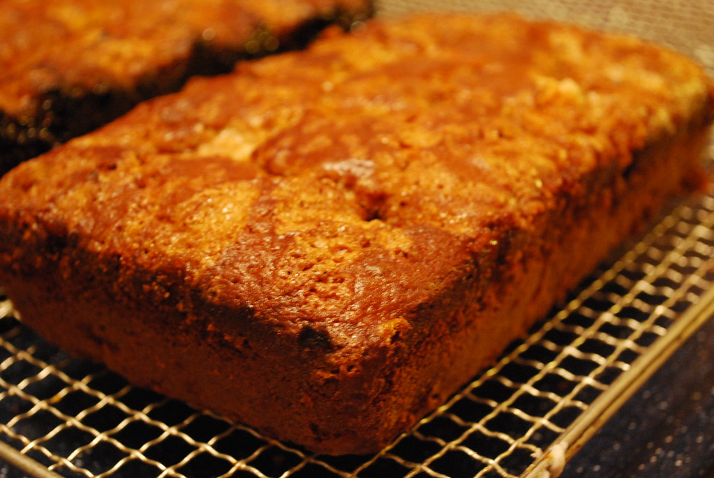 Rhubarb Quick Bread