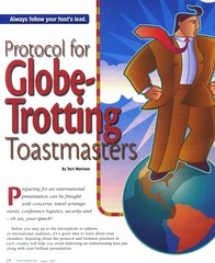 Protocol - Globe Trotting Toastmasters - Page 1 (MIGUN of Chapel Hill, NC) Tags: nc globe hill chapel protocol toastmaster trotting