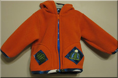 Snowman Fleece Jacket