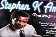 Stephen K Amos Find The Funny Festival Fringe 2008 programme extract