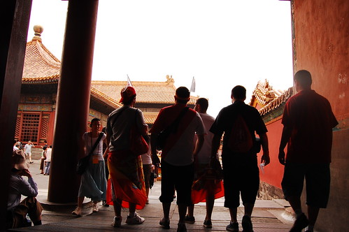 Spaniards in Forbidden City