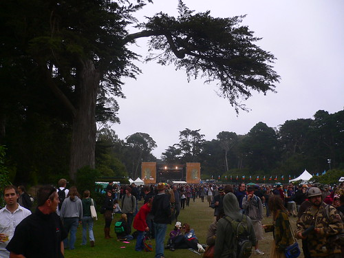 Outside Lands (Twin Peaks in the distance)