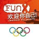 FunX in China tijdens de Olympische Spelen