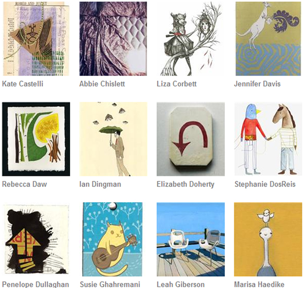 The Enormous Tiny Art Show - Now Online!