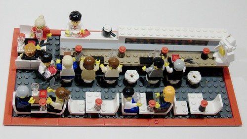 Lego Sushi Bar