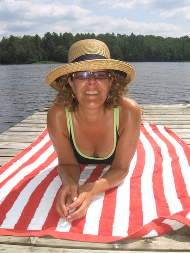 August at the Cottage, Davis Lake, The Kawarthas, Ontario