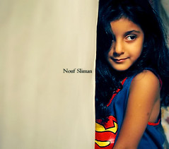 Super SoOsO ..   (NANO ,) Tags: new cute girl canon flickr superman explore nano soso photot nouf slma sliman