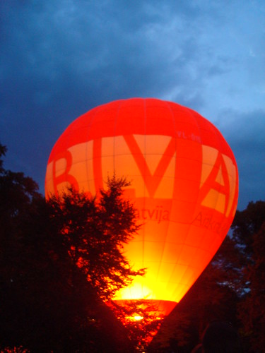Air balloons in Latvia