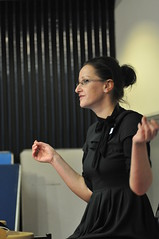 Antonia Hyde presenting