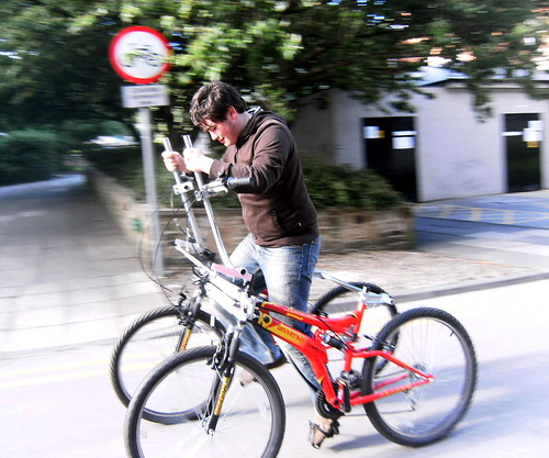 Friday Bicycle Caption Contest: Engineering Students On The Loose