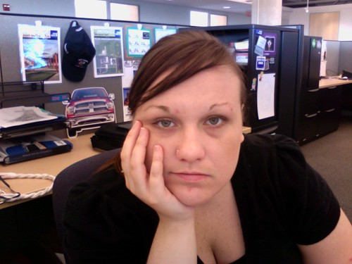 Tired @ work...
