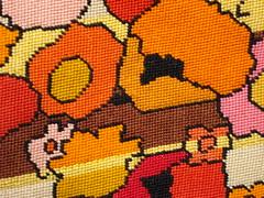 Pink & Orange Skirt Details