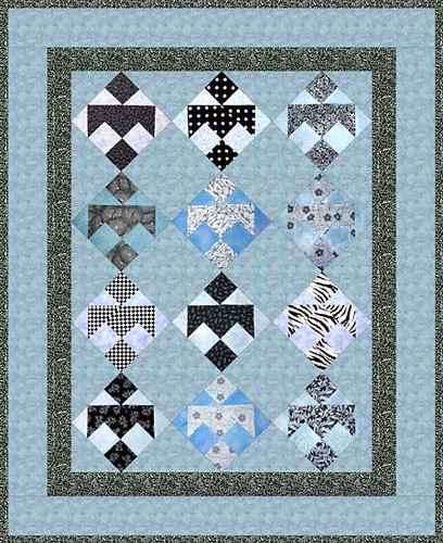 Darting Birds Virtual quilt