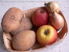 Apfel Kartoffel Zwiebel
