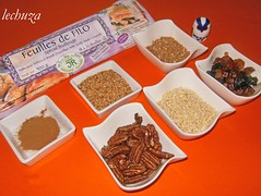 Delicias griegas ingredientes