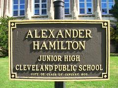 101108 Alexander Hamilton Junior High School--Cleveland, Ohio (46) (oldohioschools) Tags: county old school ohio urban abandoned high closed decay cleveland hamilton ruin junior cuyahoga alexander abandonment