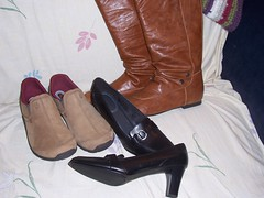 New footwear (truvy57 (Dorothy)) Tags: shoes boots truvy57 size95