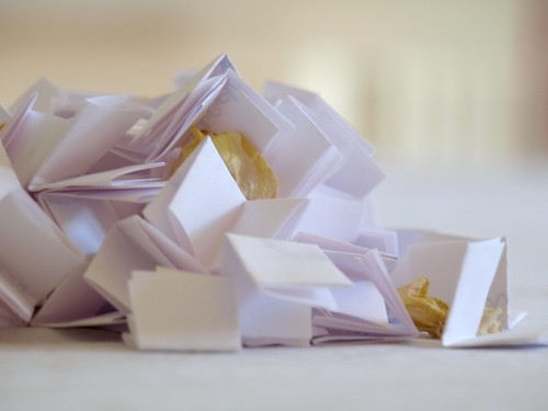 fortunes. folded.