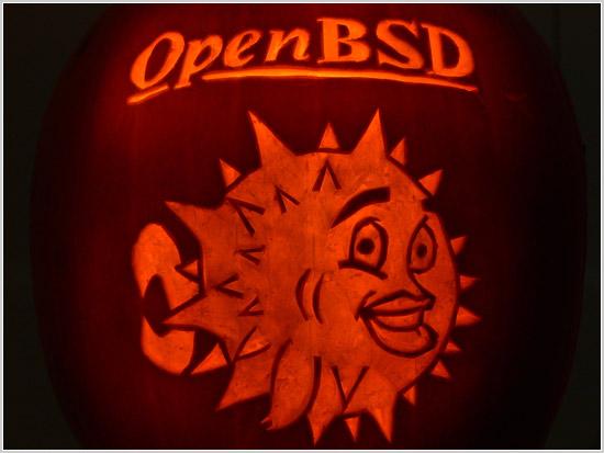 OpenBSD pumpkin