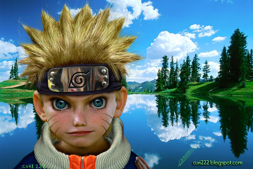 Papiel de Naruto DBZ