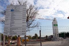 le chantier de l'ENSOSP  Aix en Provence (Dominique Lenoir) Tags: construction technique cole chantier nationale pompiers ple bouchesdurhne sapeurs officiers suprieure 13290 pdagogique lesmilles ensosp aixlesmilles dominiquelenoir