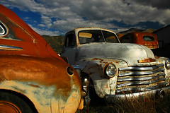 Questa Faded Beauties (jwoodphoto) Tags: newmexico abandoned vintage rust decay salvage automobiles questa jwoodphoto