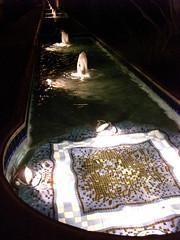 Villagio Inn at night