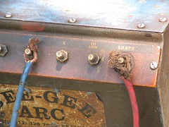 Welding in africa (christwithano) Tags: africa dangerous wiring welding cables welder tshwane soshanguve weldingmachine christwithano openconnections pretoia