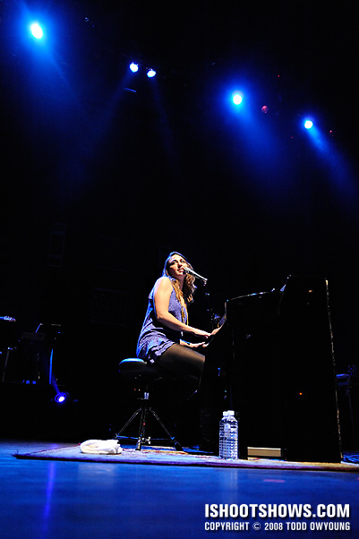 Sara Bareilles @ the Pageant - 2008.10.28