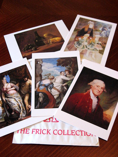 Corn Bread Muffins, Frick museum cards 011